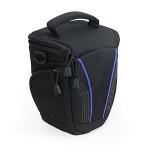 Navitech-sac pour appareil photo numérique Fujifilm X-PRO1, noir(emplacement pour objectifs) (SONY SLT A58K et SONY, noir)