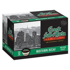 Chock Full o'Nuts Midtown Decaf Single-Serve Cups, 48 Count (Chock Full O Nuts Decaf compare prices)