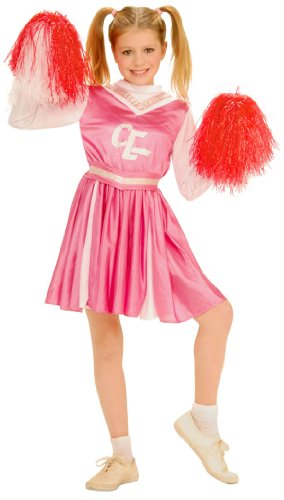 Girls Cheers Cheerleader Costume - Child Medium