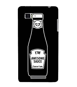 A CASUAL QUOTE WITH A BLACK BACKGROUND 3D Hard Polycarbonate Designer Back Case Cover for Lenovo Vibe Z K910