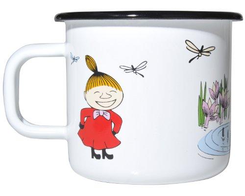 ムーミン ホーローマグカップ リトルミイ(カラー) ムールラ(muurla)6922【雑貨 北欧 食器 moomin グッズ】