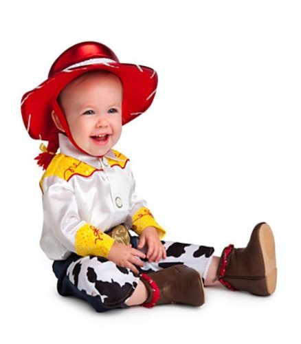Disney Store Deluxe Jessie Costume for Baby Toddlers Toy Story (12-18 Months)