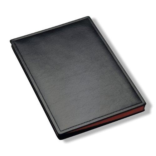 Läufer 34846 - Ambiente SCALA Unterschriftenmappe 24 x 33,5 cm, aus echtem Leder, schwarz