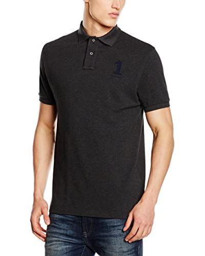 Hackett London Polo New Classic Gris Oscuro