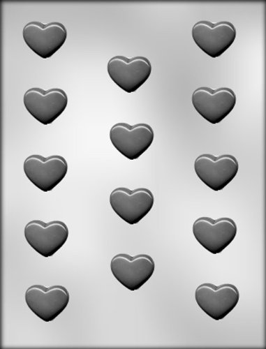 CK Products 1-1/4-Inch Plain Heart Chocolate Mold