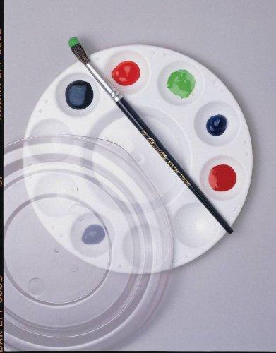 School Smart Student Paint Palette - Palette w/Cover