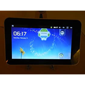 7 inch A10 Android 2.3 Super Thin Tablet PC AllWinner A10