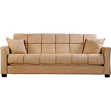 Baja Convert-a-Couch and Sofa Bed, Khaki