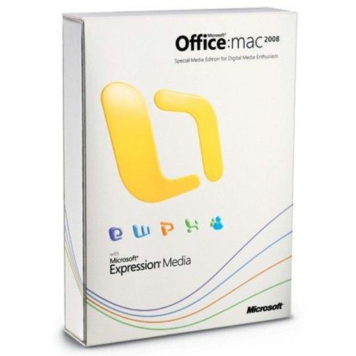 Open Box Microsoft Office 2008 For Mac Special Media Edition Upgrade *Open Box*