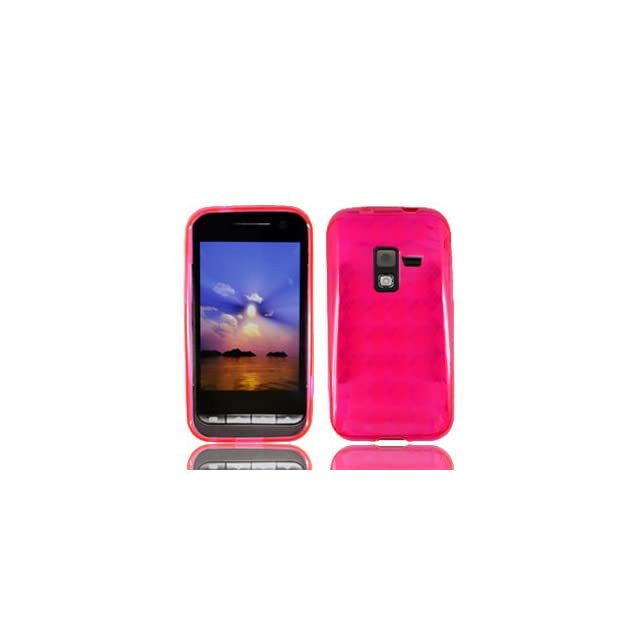 For Metro PCS Samsung Attain R920 D600 Conquer 4g Accessory   Pink TPU Soft Case Protector Cover + Free Lf Stylus Pen