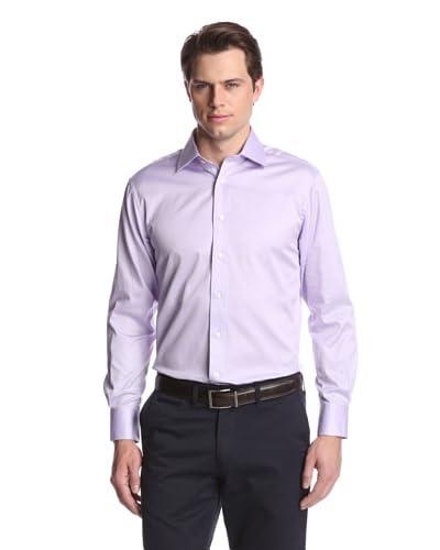 Acquaviva Men's Solid Dress Shirt