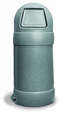 Continental Roun'Top LLDPE Waste Receptacle, Round