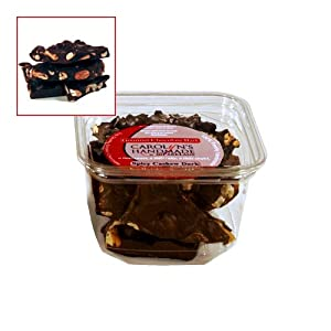 Gourmet Dark Chocolate Jalaprika Cashew Bark Deli Tub 8oz from Carolyn's Handmade