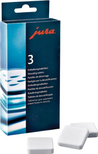 Jura Decalcifying/Descaling Tablets (9 Tablets) front-526015