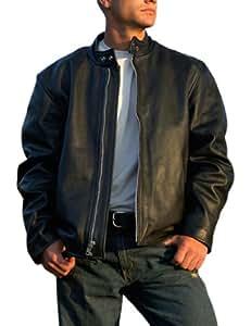 Interstate Leather Men's Basic Touring Jacket (Medium)