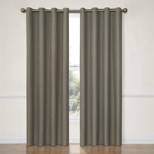 Eclipse Dane Grommet Blackout Window Curtain Panel 52