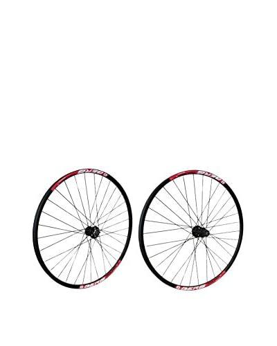 Berg Pack Ruedas Bicicleta Tr Xc26 9S Disc Kt 32H Bk_Cy Negro