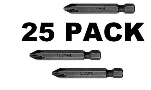 Black & Decker DEWALT No.2 Phillips Impact Ready 2-In Power Bits 25 Bits Total # DW2022IR5-5PK at Sears.com