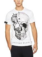 Philipp Plein Camiseta Manga Corta (Blanco)