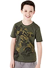 Pure Cotton Transformers Prime T-Shirt