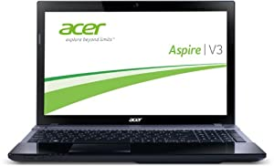 Acer Aspire V3-571G-53238G1TMAII 39,6 cm (15,6 Zoll) Notebook (Intel Core i5 3230M, 2,6GHz, 8GB RAM, 1TB HDD, NVIDIA GT 730M, Win 8) schwarz