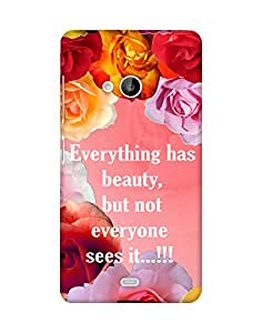 Mobifry Back case cover for Microsoft Lumia 540 Mobile (Printed design)