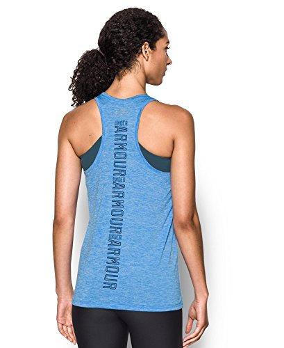 Under Armour Women's UA Tech Twist Branded Tank X-Large Water