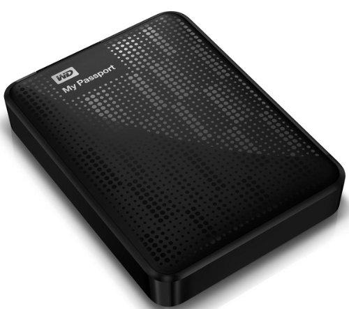 WESTERN DIGITAL Hard disk esterno portatile My Passport 2 TB - nero