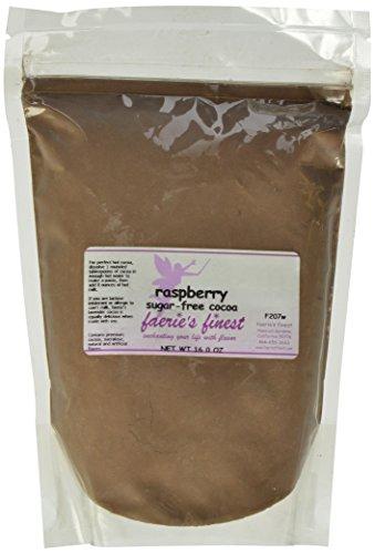 Faeries Finest Sugar-Free Cocoa, Raspberry, 16 Ounce
