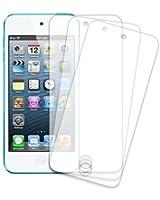 3 Films protection écran transparents haute qualité traitement anti rayure pour iPod Touch 5