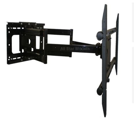 37 Inch Extending Articulating Tv Wall Mount For Samsung Un60F7100Afxza Led Hdtv By All Star Mounts **Extends 37 Inches**