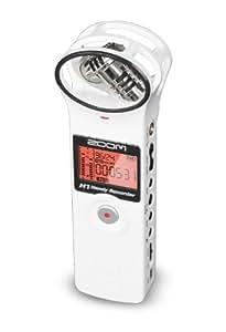 ZOOM ハンディレコーダー H1 ver.2.0 White H1W (H1/W) ホワイト + 純正アクセサリーパック APH-1