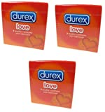 Durex Love Condoms (3 Packs of 2 Condoms)