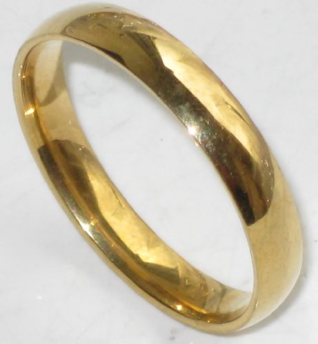 Gold Filled 5mm Wide Wedding Band Outstanding Quality
