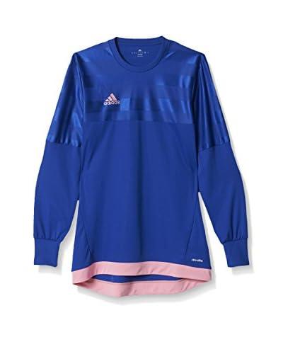 adidas Camiseta Manga Larga ENTRY 15 GK Azul / Rosa