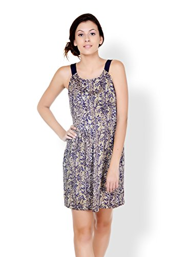 Pera Doce Purple Colour Polyester Dresses