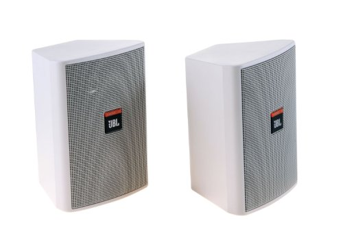 "Jbl Control23-Wh | 50W 3.5"" 2-Way Mid/High Frequency Loudspeaker(White) : Sold In Pairs"