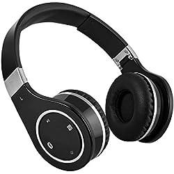 Cuffie wireless bluetooth con isolamento dal rumore, the-Cuffie over-ear
