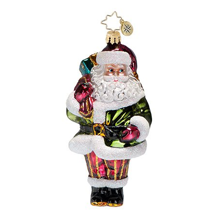 Christopher Radko Greensleeves Ornament