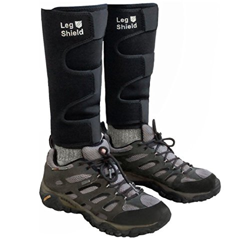 Neoprene Gaiters - Unique Easy On/Off Design - Velcro style - High-Quality, Durable, & Lightweight - Snug fit (Pair)