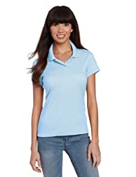 CLASSROOM Juniors Short Sleeve Fitted Polo, Light Blue, Small