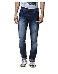 Yepme Men's Blue Poly Cotton Jeans - YPMJEAN0430_30