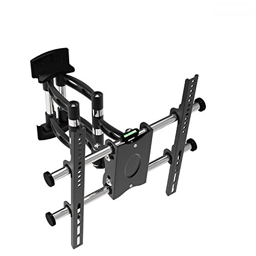 """Cantilevered Swivel Tv Wall Mount Bracket For 36"""" - 60"""" Lcd Plasma Flat Panel Screen Display Television With Vesa 600 X 400Mm, Load Capacity 50Kg"""