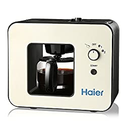 Haier Brew Automatic Coffee Makers 4 Cup with Grinder Espresso Coffee Machines made by Haier