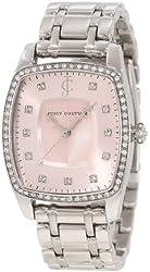 Juicy Couture Women's 1900973 Beau Stainless Steel Bracelet Watch