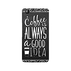 Ebby Coffee is always a good idea Premium Printed Case For Micromax Canvas Selfie 2 Q340
