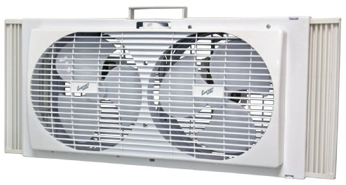 Comfort Zone CZ309 9-Inch Portable Twin Window Fan