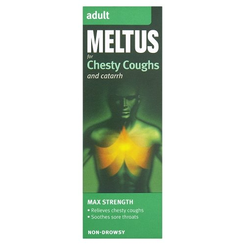 Meltus for Chesty Coughs and Catarrh Mixture Syrup Adult 100ml