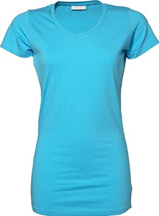 Tee Jays - Ladies Stretch Tee Extra Long XS,Light Yellow
