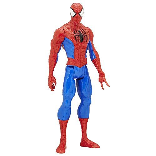 Marvel Spider-Man Titan Hero Series Spider-Man Figure (Spiderman Vs Captain America compare prices)